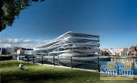 比利时Gent的未来城市图书馆和新媒体中心
