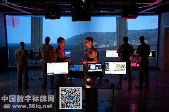 拥有数字大屏的未来研究型图书馆,信息显示系统,多媒体信息发布系统,数字标牌,数字告示,digital signage